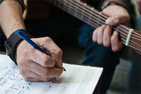Chanteur écrivain