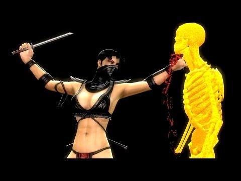 Mortal Kombat Komplete Mods and Fatalities Black Metal Edition Part 9
