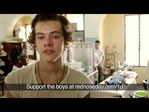 Harry Styles and Liam Payne from One Direction witness malaria's deadly effects | Red Nose Day 2013