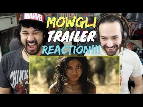MOWGLI - Official 1st TRAILER REACTION & REVIEW!!!