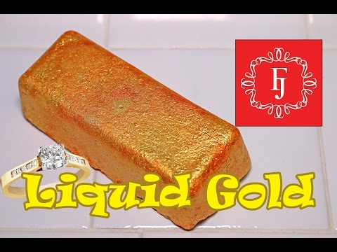 Fragrant Jewels - LIQUID GOLD Bath Bomb - DEMO - Underwater - REVIEW + RING REVEAL!!!