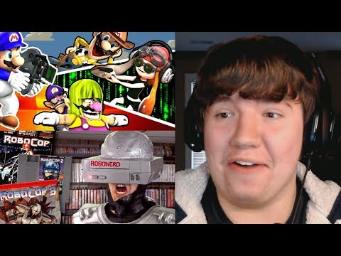 Reaction Monday #15 - SMG4: The Movie Audition + RoboCop NES Games AVGN + Luke and the Ink Machine