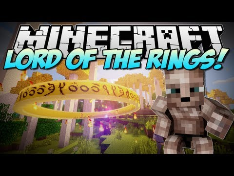 Minecraft | LORD OF THE RINGS! (Live Life in Middle Earth!) | Mod Showcase [1.6.2]