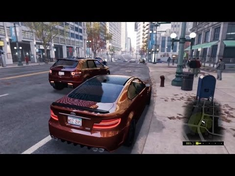 PS4 - Watch Dogs Gameplay Demo (14 Minutes)