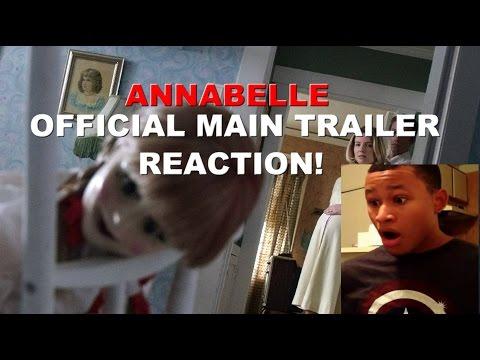 Annabelle (2014) Official Main Trailer Reaction!