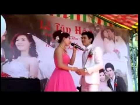 Cô dâu chú rể hát hay hơn ca sĩ - Tình nghèo có nhau - Tuấn Kiệt & Thu Trang