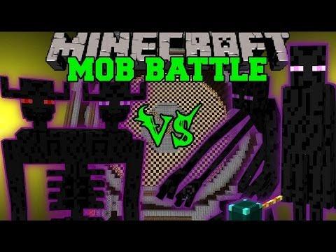ENDER TITAN VS MUTANT ENDERMAN & ENDER LORD - Minecraft Mob Battles - Farlanders Mods