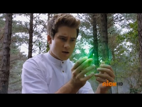 """Power Rangers Dino Charge - Riley finds the Green Energem   Episode 2 """"Past, Present, and Fusion"""""""