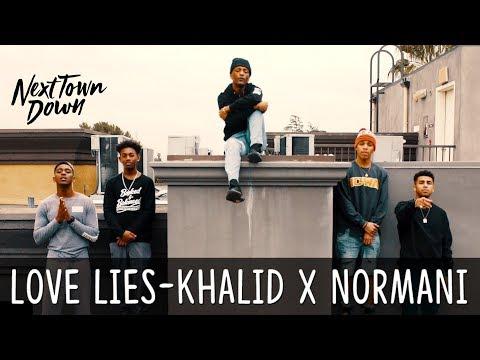 Love Lies - Khalid x Normani - Next Town Down Cover
