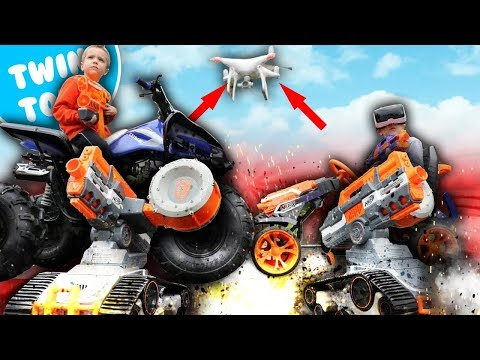 Nerf War:  The Drone Army 3
