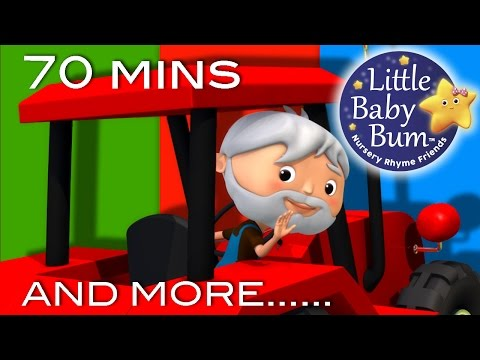 Farmer In The Dell   And More Nursery Rhymes   70 Minutes Compilation from LittleBabyBum!