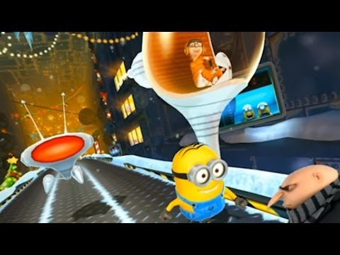 Despicable Me: Minion Rush - Vector Race Battle Gameplay