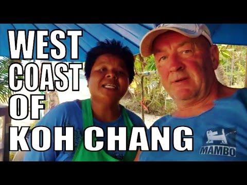 KOH CHANG ISLAND THAILAND. (WEST COAST)