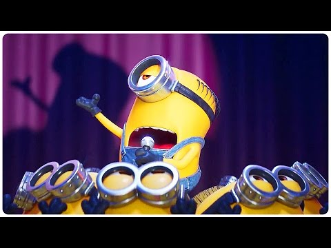 """Despicable Me 3 """"Minions Singing"""" Trailer (2017) Steve Carell Animated Movie HD"""