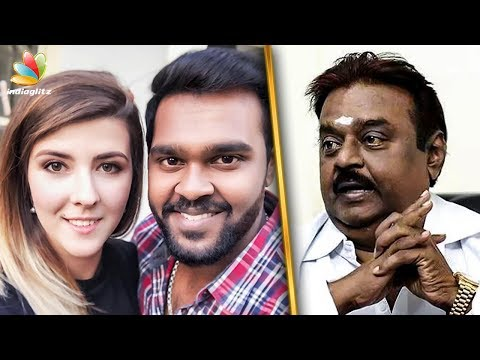 Vijayakanth getting a Foreigner Daughter in Law ? | Shanmuga Pandian | Hot News