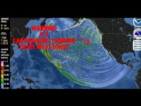 WARNING: FEMA + Scientists predict 9.2 EARTHQUAKE TSUNAMI to hit West Coast
