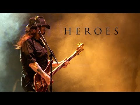 "Motörhead  ""Heroes""  (David Bowie Cover)"