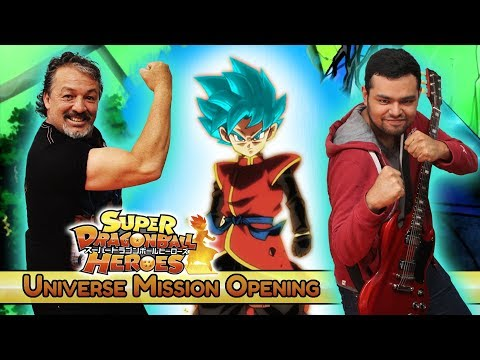 Super Dragon Ball Heroes: Universe 【Español Latino】 ft. Adrián Barba