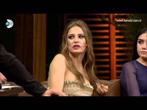 Beyaz Show  Serenay Sarıkaya'nın dizideki sümük sahnesi olay oldu!