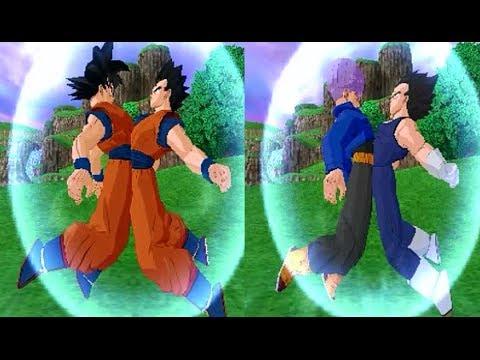 Fusion Vegetrunks VS Gokhan Dragon Ball Z Budokai Tenkaichi 3 Mod