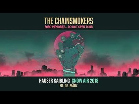 The Chainsmokers 2018 @ Euro Memories... Do Not Open Tour, Tipsport Arena, Czech Republic