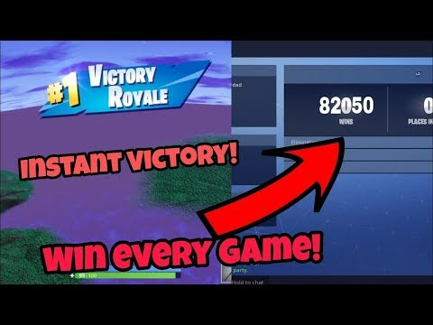 How to WIN EVERY GAME using this GOD MODE glitch! Instant victory using this! (Fortnite Glitches)
