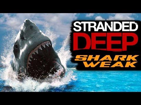 SHARK WEAK - Stranded Deep Gameplay