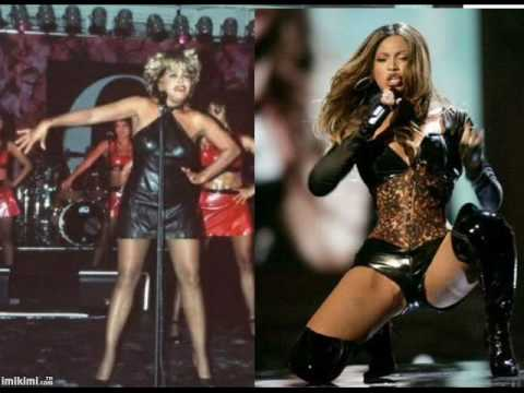 Tina Turner + Beyonce   (PROUD MARY)