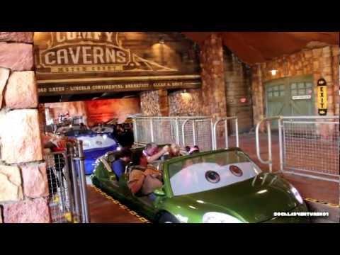 HD POV 1080P - Radiator Springs Racers - Cars Land - Disney California Adventure - Luigi Segment