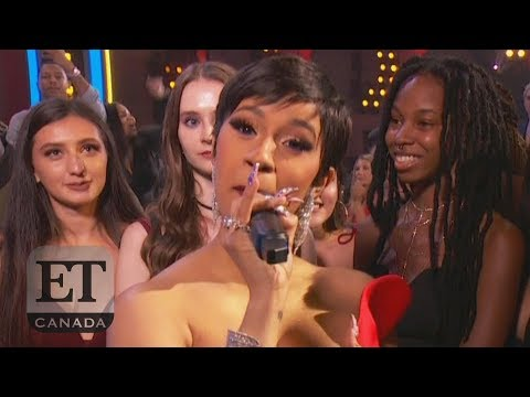 Cardi B Disses Nicki Minaj In MTV VMAs Speech