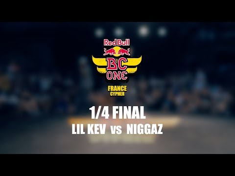 Lil Kev vs Niggaz – Red Bull BC One France Cypher 2016 – 1/4 Final