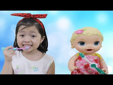My morning routine by Kids Belinda Show