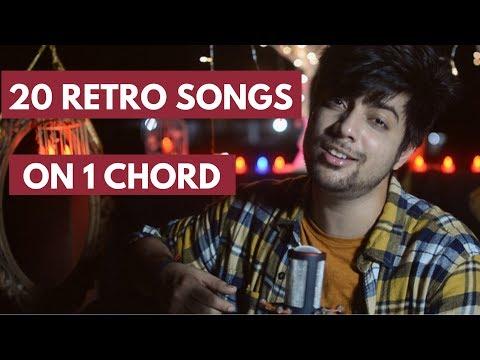 20 Songs on One Chord | Old Hindi Songs Mashup / Medley | Siddharth Slathia