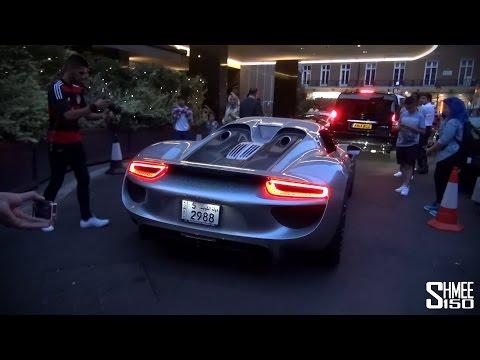 Porsche 918 Spyder 950-4 Oakley Design Arrives in London