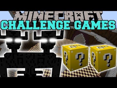 Minecraft: ENDER TITAN CHALLENGE GAMES - Lucky Block Mod - Modded Mini-Game