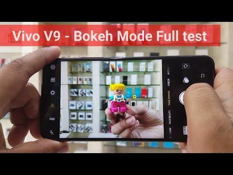 Vivo V9 Bokeh Mode Full test