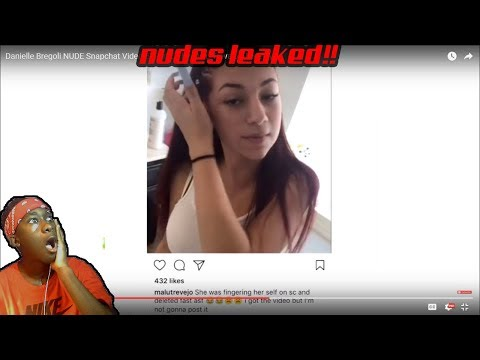 Danielle Bregoli NUDE Snapchat Video EXPOSED by Malu Trevejo Allegedly Reaction She Got Exposed!!