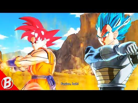 Super Saiyan God Goku +  Super Saiyan Blue Vegeta Fusion = ?!   Xenoverse [Episode 125]