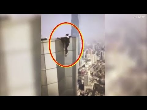 Video: Chinese 'Rooftopper' Wu Yongning Films Self Plunging To Death Off 62 Story Skyscraper