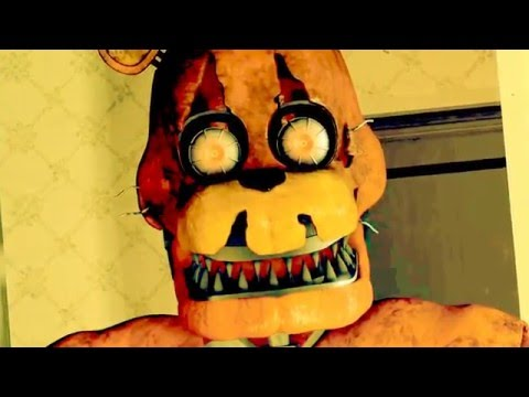 SFM FNAF FIVE NIGHTS AT FREDDY'S 4 SONG TONIGHT WE'RE NOT ALONE by Ben Schuller FNAF Music Video