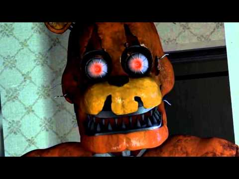 SFM FNAF FIVE NIGHTS AT FREDDYS 4 SONG TONIGHT WERE NOT ALONE by Ben Schuller FNAF Music Video