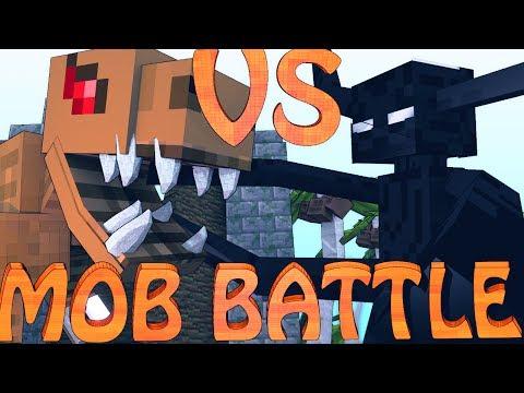 Minecraft Mob Battles | T-REX VS ENDER TITAN - Dinosaur Mod & Titan Mod!