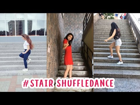Best Stair Shuffle Dance Challenge Musically Compilation 2018 #stairchallenge