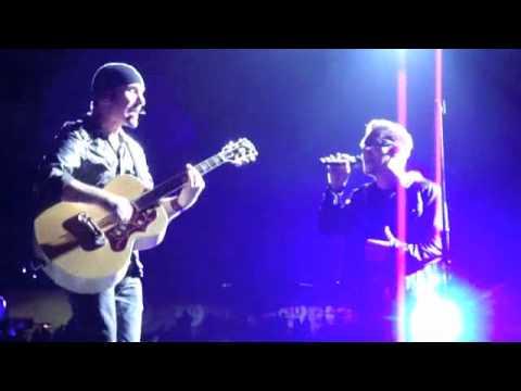 Bono & The Edge- Stuck in a Moment (Live)