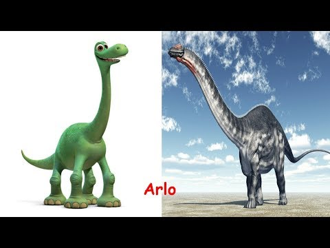 The Good Dinosaur Characters In Real Life | Ice Age In Real Life