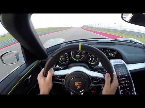 Porsche 918 Spyder Hot Lap with Patrick Long