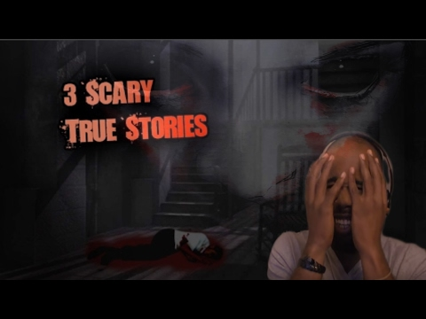 TRY NOT TO GET SCARED   3 REAL Horror Stories that are Creepy as Hell