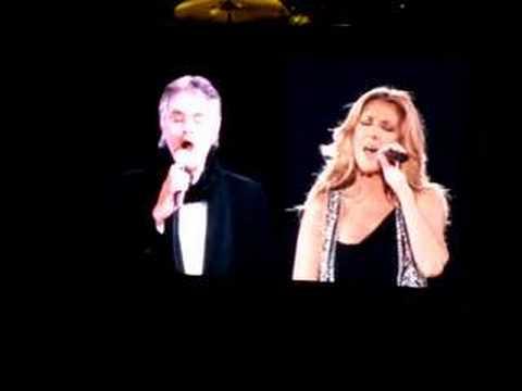 Celine Dion & Andrea Boccelli - The Prayer - Amsterdam