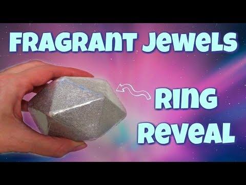 Fragrant Jewels Ring Reveal - Cosmic Vibes Bath Bomb!