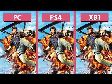 Just Cause 3 – PC vs. PS4 vs. Xbox One Graphics Comparison